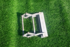 Искусственная трава на футбольном поле 7