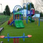 Штучний газон для дитячих майданчиків